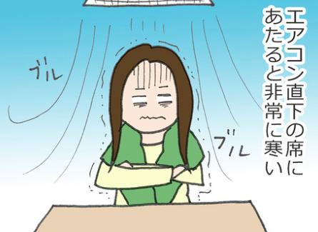 社内のエアコン問題