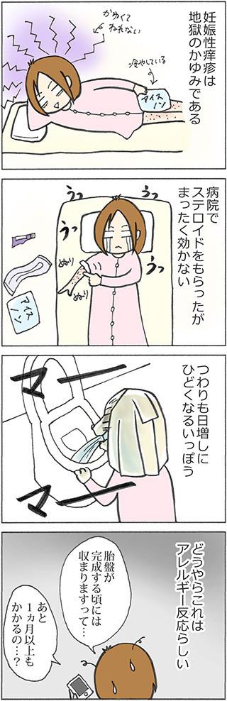 妊娠性痒疹の対処法~あなどれないヨモギパワー~